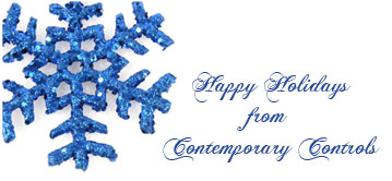 Happy Holidays from Contemporary Controls